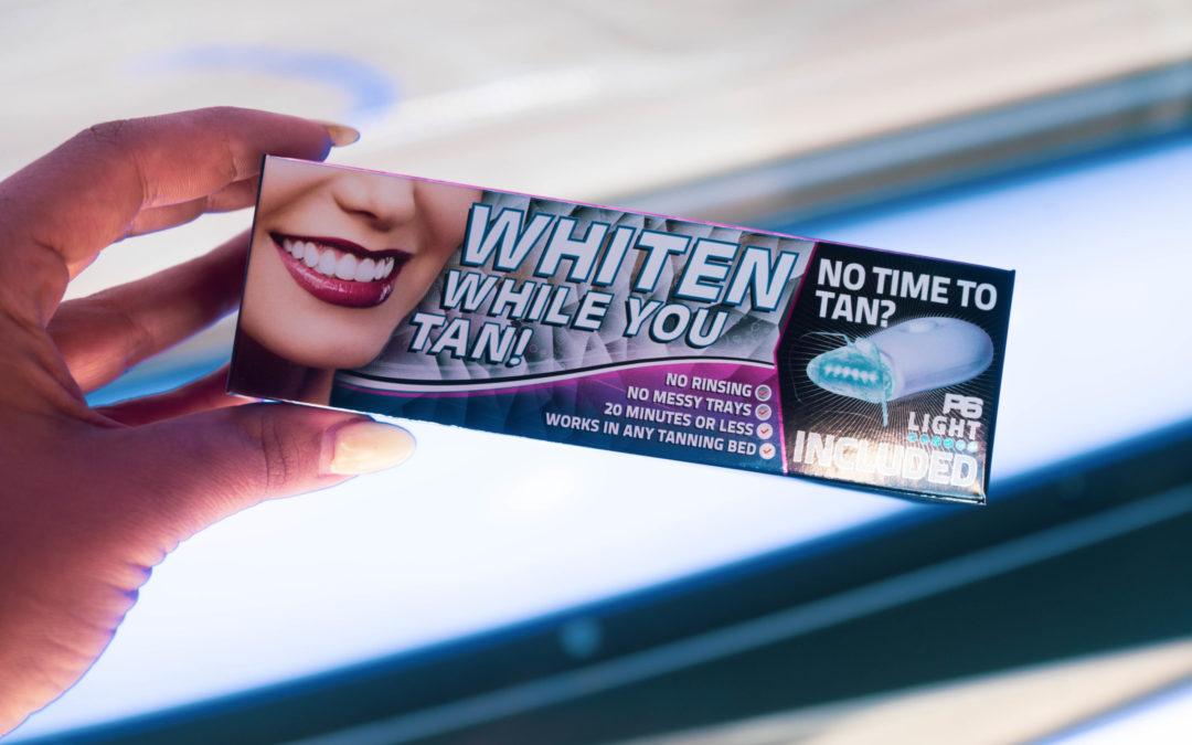 Whiten Your Teeth While You Tan!